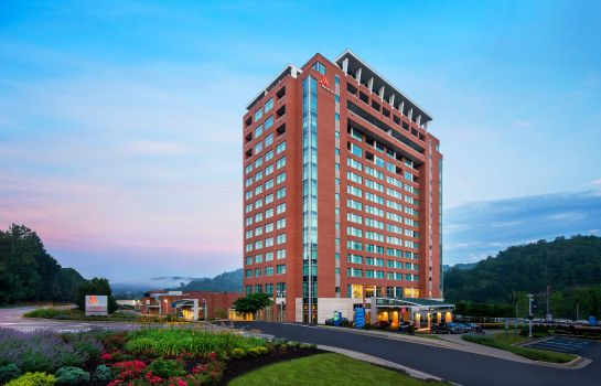Außenansicht Morgantown Marriott at Waterfront Place