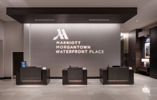 Hotelhalle Morgantown Marriott at Waterfront Place