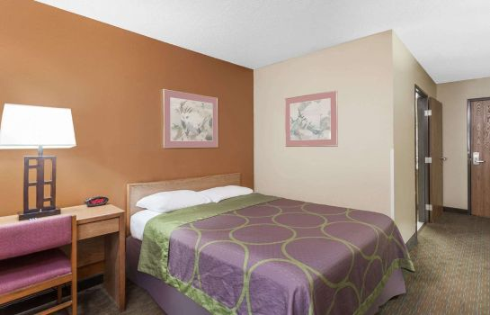 Room Super 8 by Wyndham Charlotte/Amusement Park Area