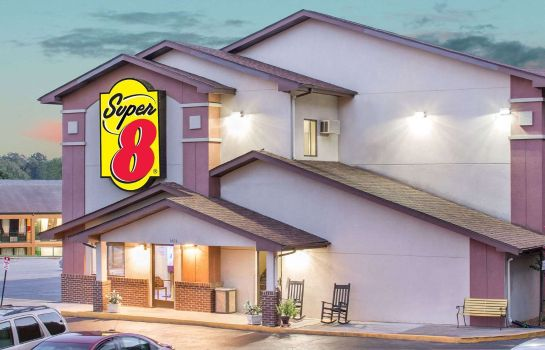 Außenansicht SUPER 8 MOTEL ROANOKE