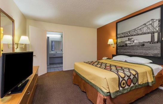 Chambre Super 8 by Wyndham New Orleans