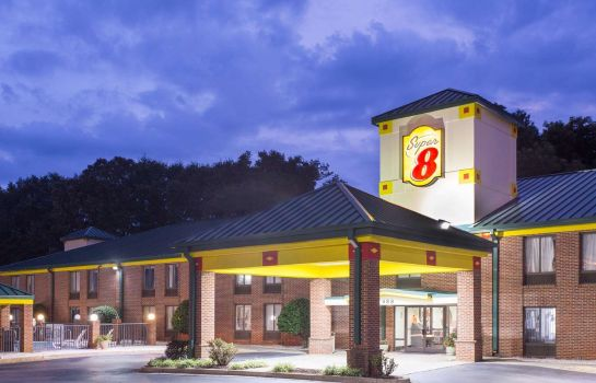 Exterior view SUPER 8 SPARTANBURG