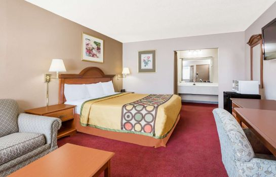 Zimmer Super 8 by Wyndham Greensboro