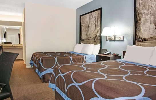 Chambre Super 8 by Wyndham Houston/Brookhollow NW