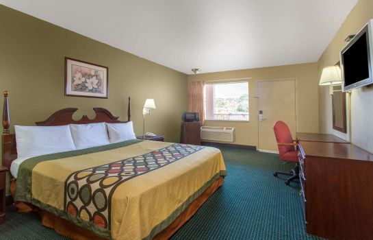 Room Super 8 by Wyndham Durham/University Area NC