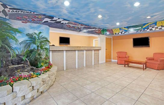 Hotelhalle Super 8 by Wyndham Daytona Beach