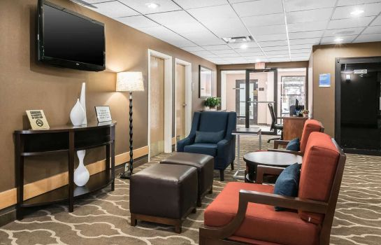 Hotelhalle Comfort Inn Indianapolis North - Carmel