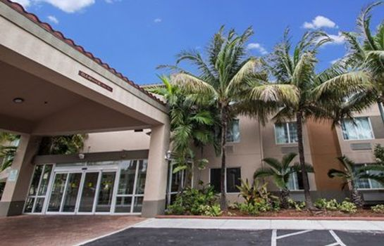 Außenansicht Sleep Inn & Suites Ft. Lauderdale International Airport