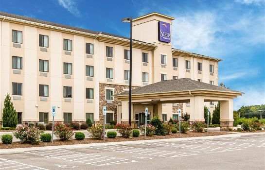 Vista esterna Sleep Inn and Suites Mount Olive North