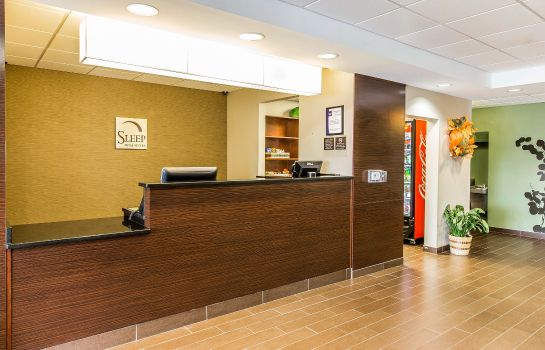 Vestíbulo del hotel Sleep Inn and Suites Mount Olive North