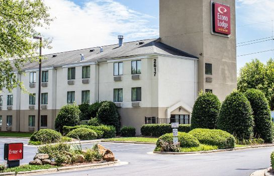 Vista exterior Quality Inn & Suites Raleigh North