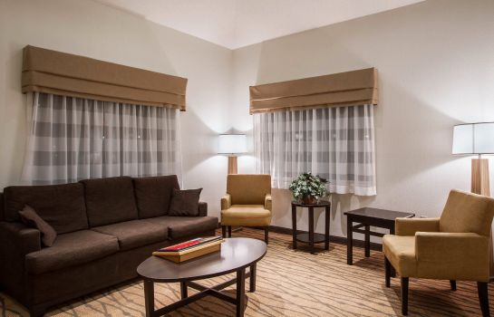 Lobby Sleep Inn and Suites Buffalo Airport