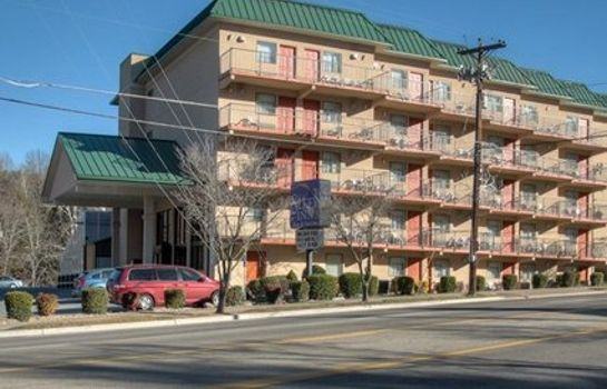 Buitenaanzicht Sleep Inn & Suites Gatlinburg