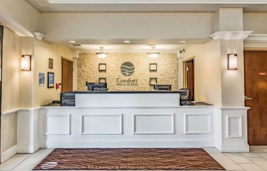 Hall de l'hôtel Comfort Inn and Suites Lookout Mountain