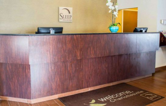 Hotelhalle Sleep Inn and Suites Monticello