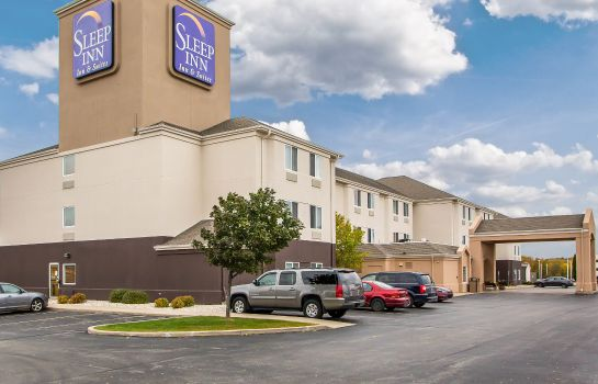 Buitenaanzicht Sleep Inn & Suites Green Bay Airport