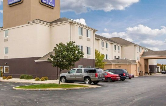 Außenansicht Sleep Inn & Suites Green Bay Airport