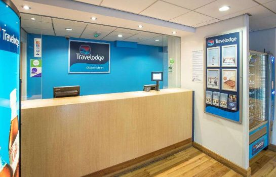 Vestíbulo del hotel TRAVELODGE GLASGOW AIRPORT