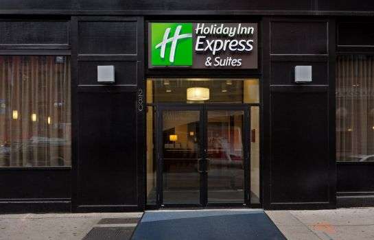 Vista esterna Holiday Inn Express & Suites BOSTON GARDEN