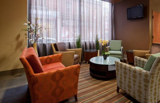Hotelhalle Holiday Inn Express & Suites BOSTON GARDEN