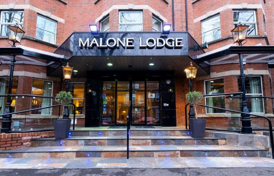 Exterior view Malone Lodge