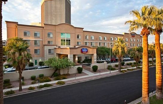 Außenansicht Fairfield Inn & Suites Phoenix Midtown