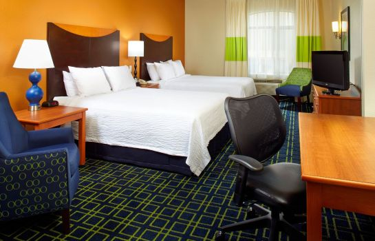Zimmer Fairfield Inn & Suites Phoenix Midtown