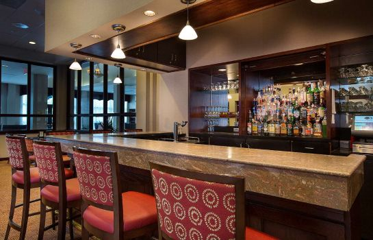 Hotel bar DoubleTree by Hilton Charlotte Airport