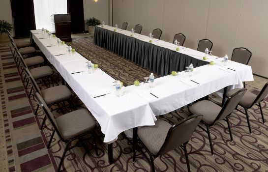 Conference room DoubleTree by Hilton Charlotte Airport