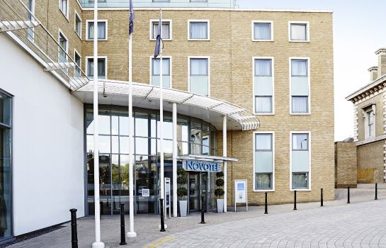 Buitenaanzicht Novotel London Greenwich