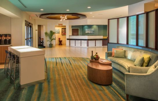 Hotelhalle SpringHill Suites Charlotte Airport