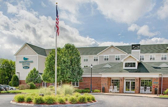 Exterior view Homewood Suites by Hilton Manchester-Airport