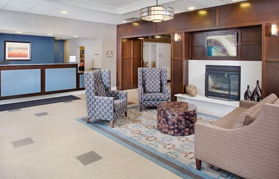 Lobby Homewood Suites by Hilton Manchester-Airport