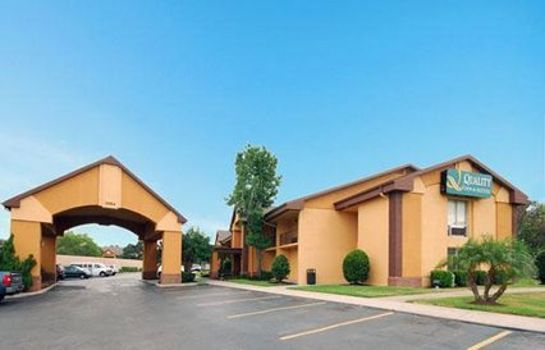 Vista esterna Quality Inn & Suites NRG Park - Medical Center