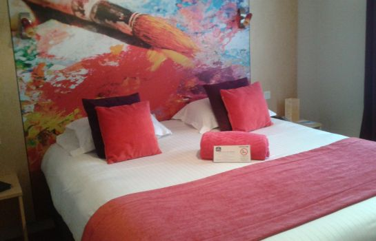 Chambre double (confort) Best Western Vinci Loire Valley