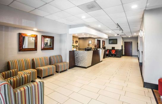 Hall de l'hôtel Comfort Inn & Suites Roper Mountain Road