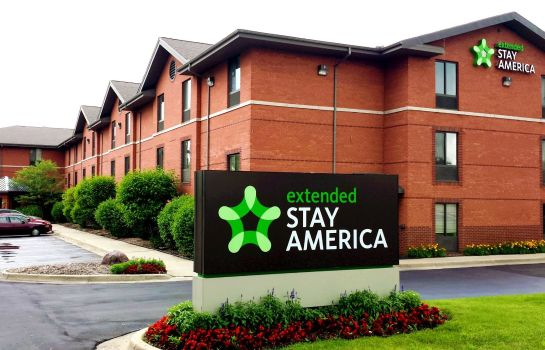 Exterior view Extended Stay America Ann Arbo