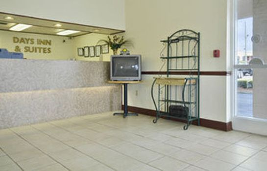 Hotelhalle DAYS INN AND SUITES MOBILE