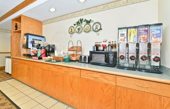 Sala colazione IN Americas Best Value Inn & Suites Marion