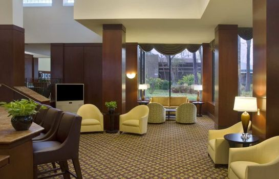 Lobby Doubletree Hotel Houston Intercontinental Airport