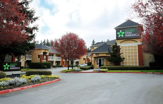 Exterior view Extended Stay America Redmond