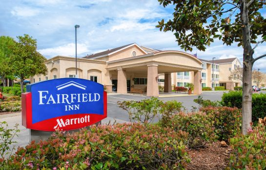 Exterior view Fairfield Inn Sacramento Cal Expo