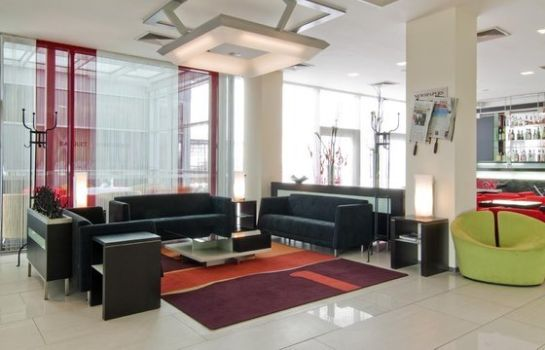Hall de l'hôtel Holiday Inn PRAGUE AIRPORT