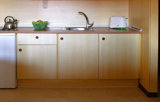 Kitchen in room Hotel Myramar Fuengirola