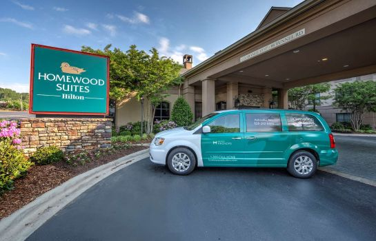 Widok zewnętrzny Homewood Suites by Hilton Asheville-Tunnel Road
