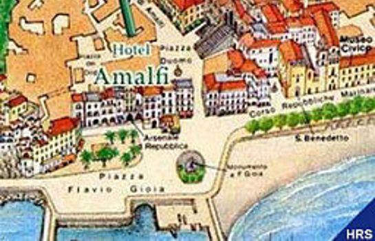 How to find us Hotel Amalfi