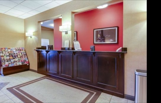 Reception Brentwood Suites