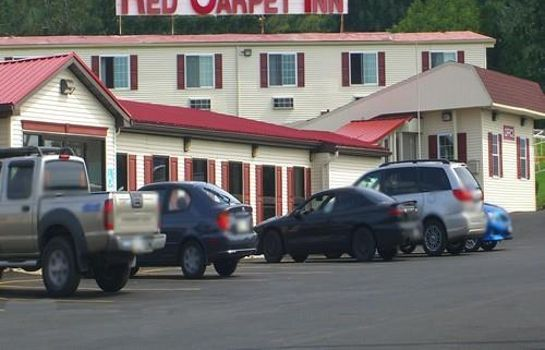 Vista exterior Red Carpet Inn Syracuse Airprt