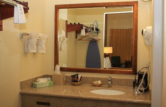 Bagno in camera Ocean Palms Motel