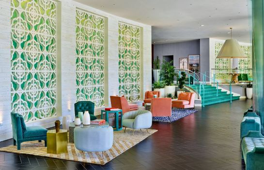Hotelhalle a Tribute Portfolio Resort The Riviera Palm Springs